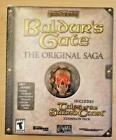 Baldur's Gate Original Saga w/ Tales of Sword Coast (PC big box, Bioware)