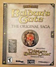 Baldur's Gate Original Saga w/ Tales of Sword Coast (PC big box, Bioware)