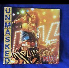 KISS Unmasked Dbl Live Lp! RARE 33 LP BOOTLEG LIVE