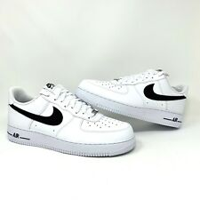 Nike Air Force 1 '07 White Black Basketball Shoes (CJ0952-100) - Men's Size 12