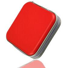Red 40 Disc Disk CD/DVD Case Sleeve Plastic Bag Portable Wallet Holder Storage