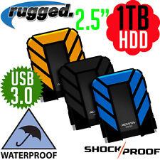 "ADATA 1TB Rugged 2.5"" Portable Pocket USB 3.0 External HDD Hard Disk Drive Lacie"