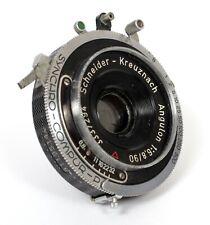 Schneider Angulon 90mm F6.8 Lens in Compur Shutter