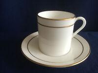 Royal Worcester Contessa coffee can & saucer (very minor rim gilt wear)