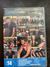 Les Mills Rpm 58 Complete Release Dvd Cd Choreography Rare
