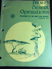 FM 31-25 Desert Operations February 1972