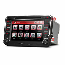 "7"" Car DVD Player Radio GPS SatNav Stereo USB SD VW Passat Golf T5 Transporter"