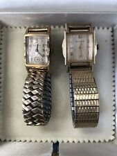 2 Piece Bulova Watches (Ticking!)
