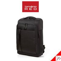 Samsonite RED ELIUN Casual Backpack Square Type Laptop Bag-M Size ,PE, Black