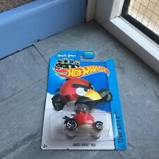 Hot Wheels - Angry Bird Red - Brand New