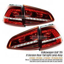 LED Tail Light Sequential Rear Lamp LH+RH 4Pcs for VW 2013-16 Golf 7th R Version