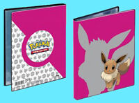 ULTRA PRO POKEMON EEVEE 4 Pocket Portfolio 10 Page 40 Trading Card Game Binder