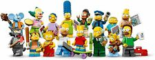 THE SIMPSONS Minifigure Lego Homer Bart Marge Maggie Lisa Nelson Flanders nuov