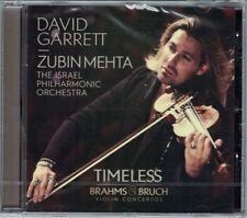 David GARRETT: TIMELESS BRAHMS BRUCH Violin Concerto No.1 Zubin MEHTA CD NEU OVP