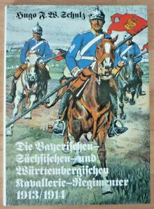 Fachbuch, Bayerischen, Sächsischen und Württembergischen Kavallerie   (Art.5294)