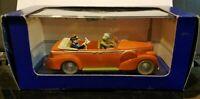 """The New Delhi Taxi in """"Tintin in Tibet"""", Cadillac Fleetwood 1938"""