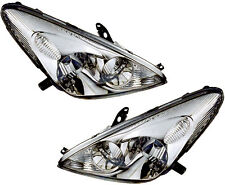 Halogen Headlights w/Bulb Left & Right Pair Set NEW for 02-04 Lexus ES300 ES330