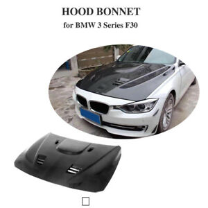 Carbon Fiber Front Hood Bonnet Cover Lid Fit For BMW F30 318i 320i 335i 13-18