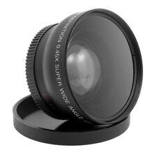 HD 52mm 0.45x objectif de grand Angle avec un objectif Macro pour Pentax Noir WT