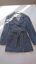 Femme en Jeans bordures ruchées  - Doublé - MORGAN DE TOI Manteau Fashion - T 40