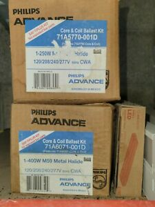 Phillips Advance 250W And 400W Ballast Kits.