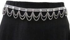 Metal Chain BELT Body Jewelry Womens Hot Fashion Vintage Silver Boho Gypsy Style