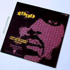 """ORIGINAL POP ART COVER PRINCE 1999 / HOW COME / DMSR 12"""" VINYL 1983 NM V.RARE"""