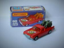 MATCHBOX SUPERFAST BOXED HOLDEN PICK-UP No.60 MINT IN BOX RARE GREEN BIKES 1977