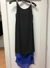 BCBG Max Azria  Black And Blue Essex Dress XS NWT $248