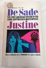 BOOK - Justine By Marquis De Sade Lancer Books Paperback 1964 Fiction