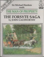 A MAN OF PROPERTY (Forsyte Saga) by John Galsworthy  ~ Two-Cassette Audiobook