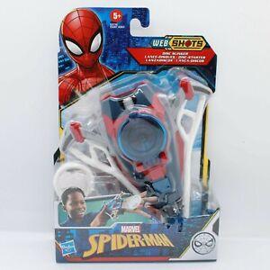 Marvel Spider-Man Web Slinger - Web Shots Gear Disc Blaster Toy for Kids