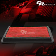 RED WASHABLE HIGH FLOW AIR FILTER FOR 05-10 FORD MUSTANG/GT 07-08 SHELBY V6/8