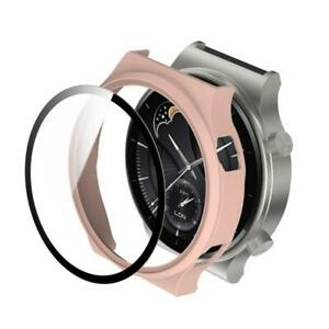 Protective Case For Huawei -Watch GT 2 Pro Matte Watch Cover Tempered Glass