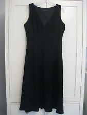 Banana Republic Ladies Black Cocktail Dress, Size 18