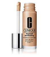 Clinique Beyond Perfecting Foundation + Concealer-CN40 Cream Chamois- 1 oz/30 ml