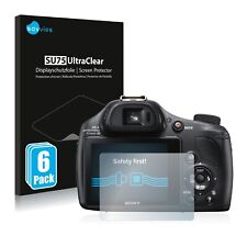 6x protezione schermo per Sony Cyber-Shot DSC-HX400V pellicola di plastica scudo invisibile