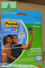 3M POST-IT PHOTO PAPER GLOSSY PER STAMPANTI INKJET