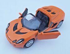 BLITZ VERSAND Lotus Elise 111s 2003 orange Welly Modell Auto 1:34 NEU OVP