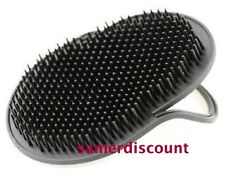 4  POCKET HAIR BRUSH MEN TRAVEL COMB STYLER  * BLACK *