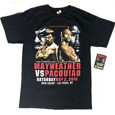 Mayweather Vs Pacquiao 2015 Tshirt With Replica Staff Pass - Medium - Boxing