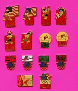 1984 LA OLYMPIC PIN COCA COLA PINS GROUP #C1 PICK 1-2-ALL ADD TO CART SPORTS SAM