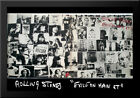 Rolling Stones, exile on main street 40x28 Framed Art Print by Robert Frank