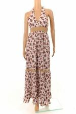 Cotton Halterneck Plus Size Maxi Dresses for Women