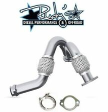 MBRP Heavy Duty Up Pipes w/ Exhaust Clamp & Gasket For 2003-2007 Ford 6.0L