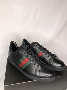Gucci Men's Leather Brand New Lace Up Dress Shoes Sneakers- Size 11(OG:395$)