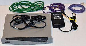 Cisco Model Series SOHO-A Network Router ADSL Model 1097-02-1804 + Genuine PSU