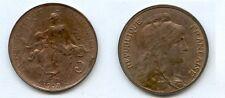 **gertbrolen 5 Centimes bronze Type Dupuis  1908 Superbe qualité