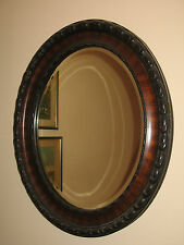 A good quality Victorian Wall Mirror with decorated borders and bevel glass