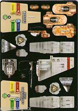STAR WARS POCKETMODEL - (S&V04) LANDSPEEDER/T-16 SKYHOPPER